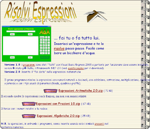 http://web.tiscalinet.it/AandA/risolvi.htm