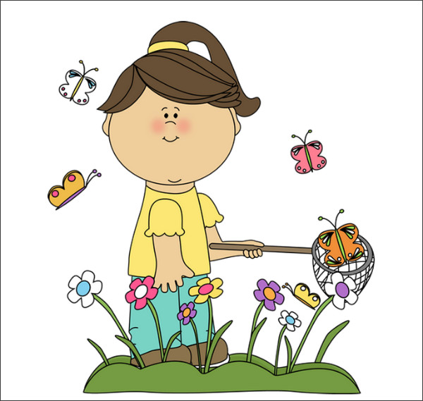 http://www.mycutegraphics.com/graphics/spring/girl-catching-butterflies.html