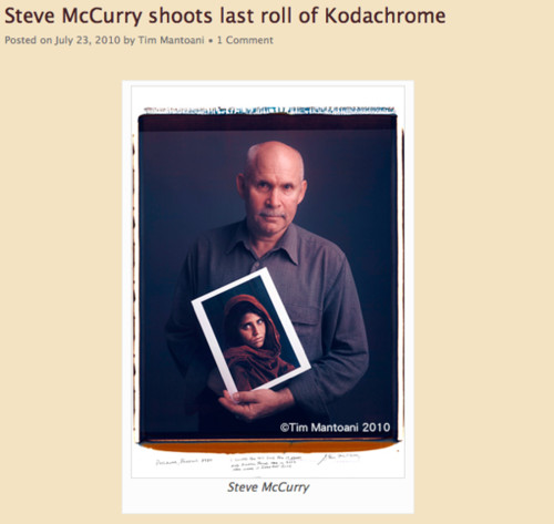 http://behindphotographs.com/steve-mccurry-shoots-last-roll-of-kodachrome/
