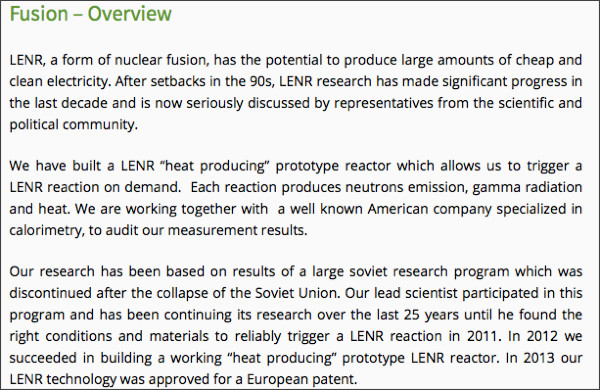 http://lightstone.net/global-projects/lenr-fusion/t-steel-overview/