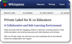 http://www.wikispaces.com/site/privatelabel/k-12