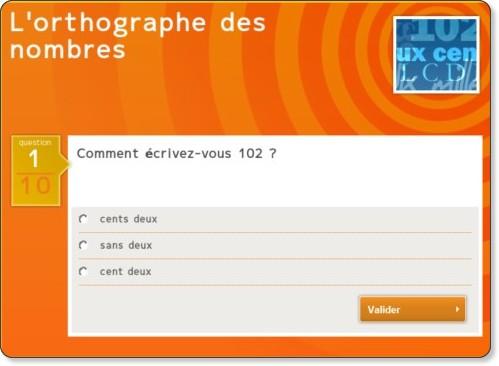 http://www.tv5.org/TV5Site/jeunesse/quiz-280-5-l-orthographe-des-nombres.htm