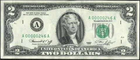 http://www.oldcurrencyvalues.com/1976_two_dollar_bills.html