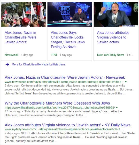 https://www.google.co.jp/search?hl=EN&q=lCharlottesville+Nazis+Leftists+Jews&oq=lCharlottesville+Nazis+Leftists+Jews&gs_l=psy-ab.3...3867.3867.0.4404.1.1.0.0.0.0.155.155.0j1.1.0....0...1..64.psy-ab..0.0.0.chf2H9sxxIk