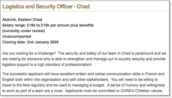 http://www.cord.org.uk/jobs/working-for-cord/international-vacancies.html