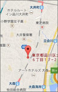 東京都品川区八潮2丁目6 - Yahoo!地図