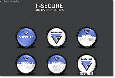 http://3xhumed.deviantart.com/art/F-Secure-SecuritySuitesPack-93478371