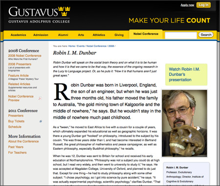 https://gustavus.edu/events/nobelconference/2008/dunbar.php