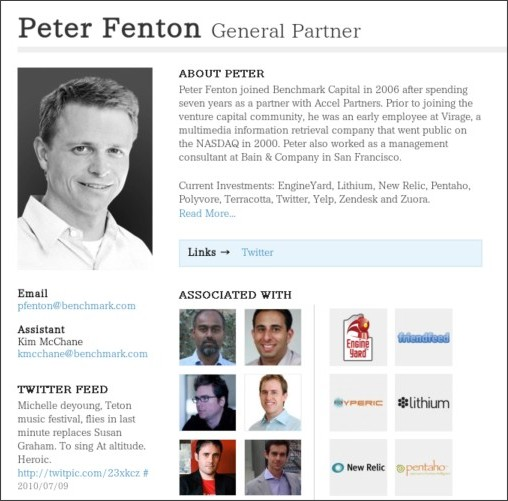 http://www.benchmark.com/people/general-partner/peter-fenton/