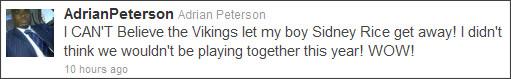 http://twitter.com/#!/AdrianPeterson
