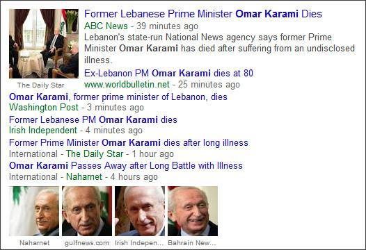 https://www.google.com/#q=Omar+Karami&tbm=nws