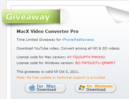 http://macxdvd.com/giveaway/iphoneipadreviews.htm