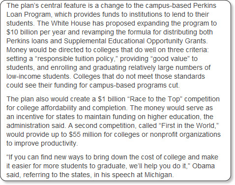 http://www.insidehighered.com/news/2012/01/30/obama-higher-education-plan-signals-policy-shift