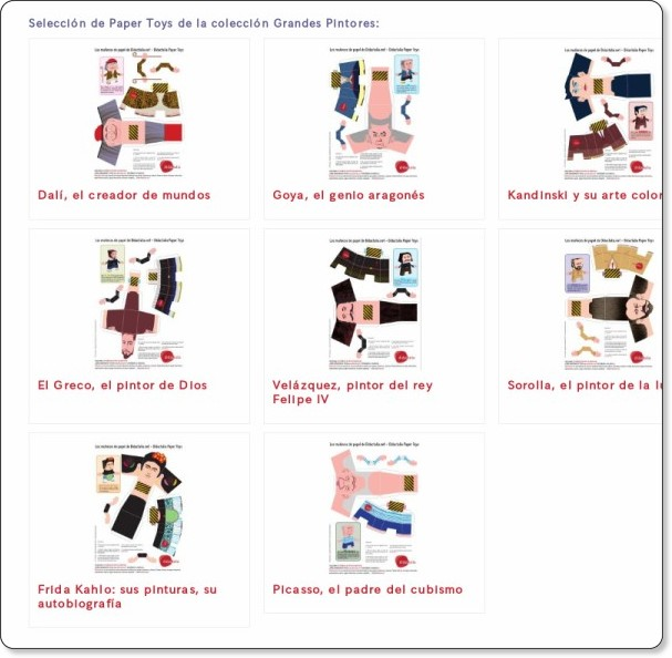 http://papertoys.didactalia.net/comunidad/papertoys