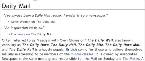 http://uncyclopedia.wikia.com/wiki/Daily_Mail