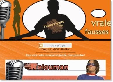 http://www.linterviewer.net/relouman.html