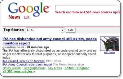 http://news.google.co.uk/news?ned=uk