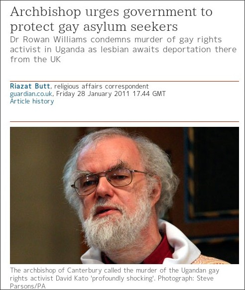 http://www.guardian.co.uk/uk/2011/jan/28/archbishop-gay-asylum-seekers