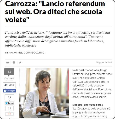 http://www.repubblica.it/scuola/2014/01/05/news/carrozza-75160926/