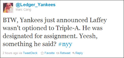 https://twitter.com/#!/Ledger_Yankees/statuses/105720780704329728