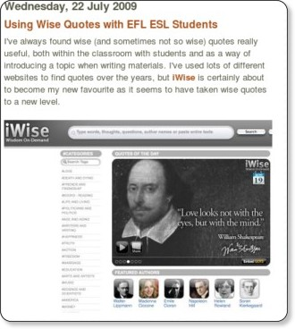 http://nikpeachey.blogspot.com/2009/07/using-wise-quotes-with-efl-esl-students.html