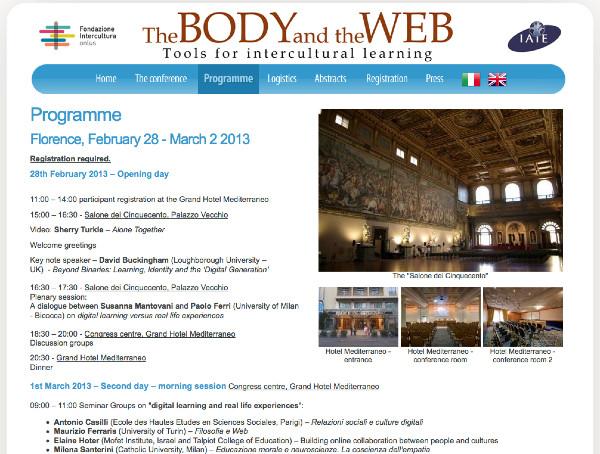 http://www.bodyandweb.org/Programme/
