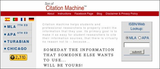 citation machine chicago