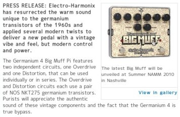 http://www.musicradar.com/news/guitars/electro-harmonix-to-launch-germanium-4-big-muff-pi-at-summer-namm-2010-253517?cpn=RSS&source=MRNEWSGUITARS