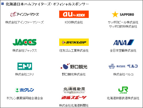 http://www.fighters.co.jp/company/sponsor.php