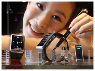 http://techcrunch.com/2013/03/19/samsung-confirms-it-will-build-a-smart-watch-as-speculation-about-apples-iwatch-continues/