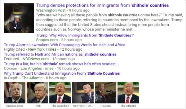 https://www.google.com/search?q=Shithole+Countries&tbm=nws&source=lnms&sa=X&ved=0ahUKEwjh_sjxqtLYAhUE3WMKHaD7CSAQ_AUIDCgD&biw=1105&bih=736&dpr=1