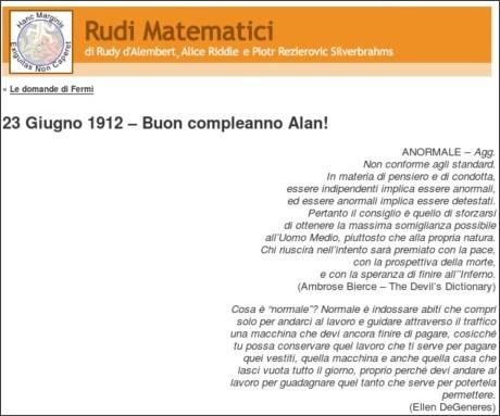 http://rudimatematici-lescienze.blogautore.espresso.repubblica.it/2010/06/23/23-giugno-1912-buon-compleanno-alan/