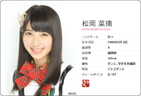 http://www.hkt48.jp/profile/natsumi_matsuoka.html