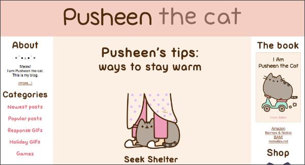 http://pusheen.com/