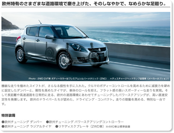 http://www.suzuki.co.jp/car/swift_rs/performance/index.html