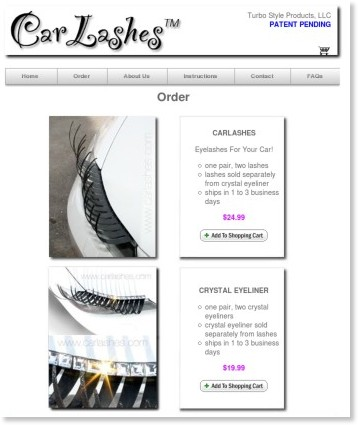 http://www.carlashes.com/order.html