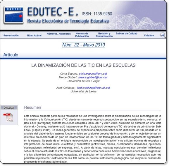 http://edutec.rediris.es/Revelec2/revelec32/dinamizacion_tic_escuelas.html