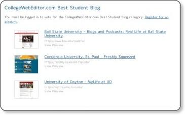 http://www.edustyle.net/awards/ballot.php#34