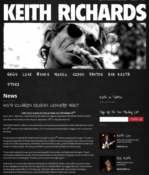 http://www.keithrichards.com/news/keith-richards-releases-crosseyed-heart-117291