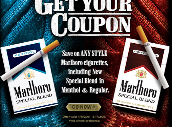 marlboro coupons in the mail