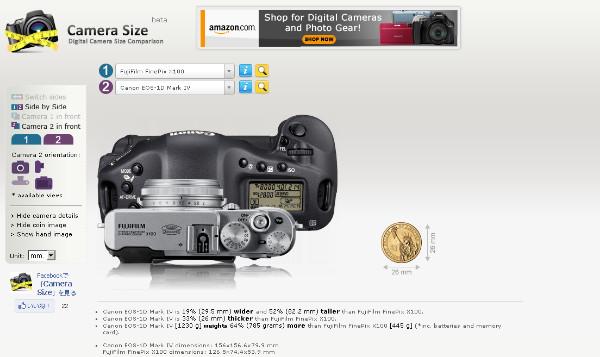 http://camerasize.com/compare/#133,153