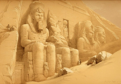 http://web.mac.com/musicksmonumentbergh/EGYPT_%26_NUBIA_VOL_I/COLOSSAL_FIGURES_IN_FRONT_OF_THE_GREAT_TEMPLE_OF_ABOO-SIMBEL..html