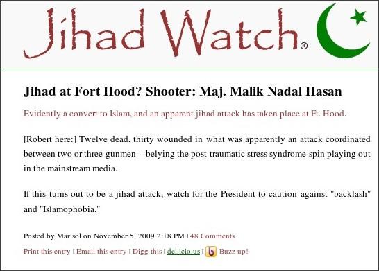 http://www.jihadwatch.org/2009/11/ft-hood-shooter-maj-malik-nadal-hassan.html