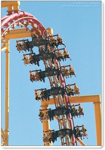 six flags magic mountain. X2, Six Flags Magic Mountain