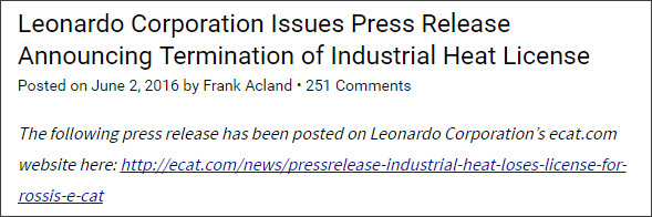 http://www.e-catworld.com/2016/06/02/leonardo-corporation-issues-press-release-announcing-termination-of-industrial-heat-license/