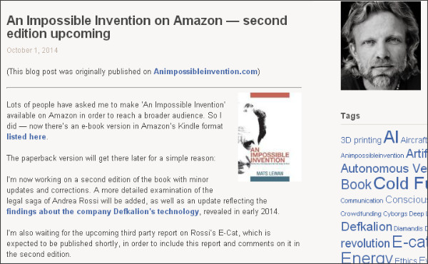 http://matslew.wordpress.com/2014/10/01/an-impossible-invention-on-amazon-second-edition-upcoming/