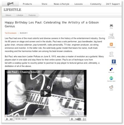 http://www.gibson.com/en-us/Lifestyle/Features/les-paul-birthday-0609-2011/