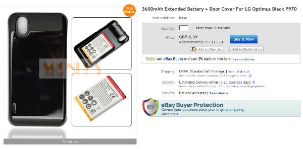 http://www.ebay.com/itm/3600mAh-Extended-Battery-Door-Cover-LG-Optimus-Black-P970-/130607288006?pt=LH_DefaultDomain_3&hash=item1e68cd0ec6