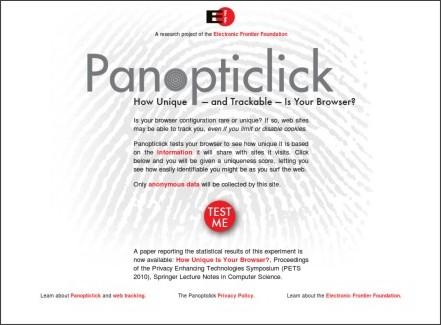 https://panopticlick.eff.org/