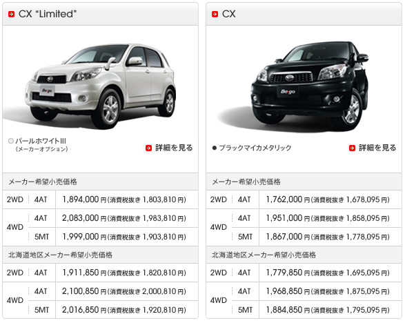 http://www.daihatsu.co.jp/lineup/be-go/grade/index.htm